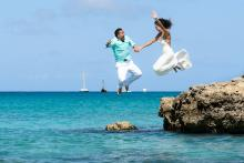Trash the Dress by Crooze Photography | Aruba Destination Weddings | Aruba Beach Brides