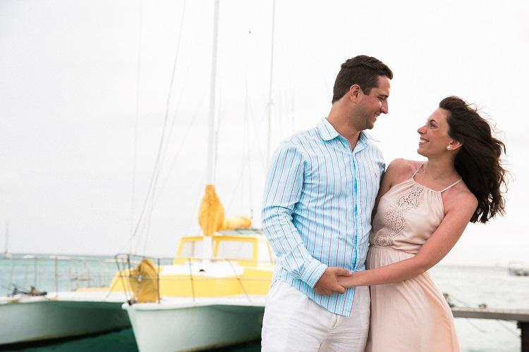Aruba Engagement-Moon   Aruba Destination Wedding   Beach Brides