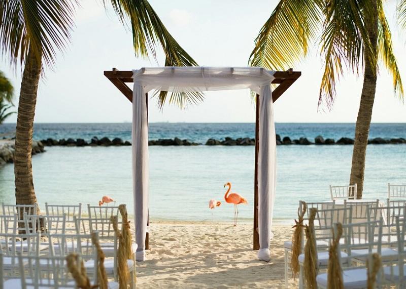 Aruba Weddings | Aruba Destination Wedding | Renaissance Island | Aruba Beach Brides