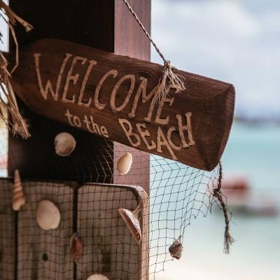 Novias de playa en instagram