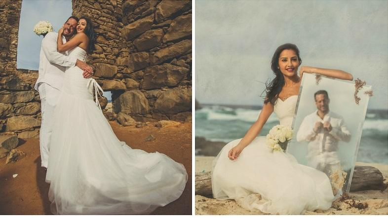 Aruba Wedding Photography| Trash the Dress Photoshoot | Aruba Beach Brides