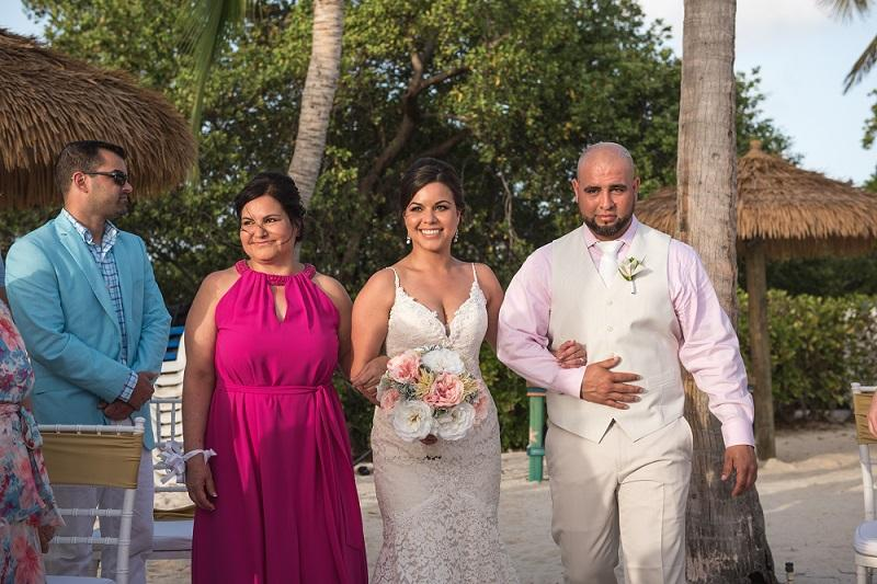Aruba Destination Wedding | Beach Brides | Yolanda and Jared