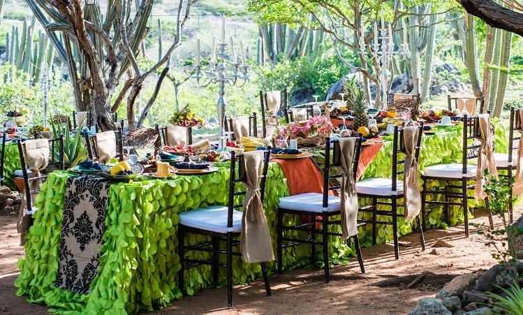 Aruba Wedding Venues   Breakfast in Arikok National Park   Aruba Beach Brides