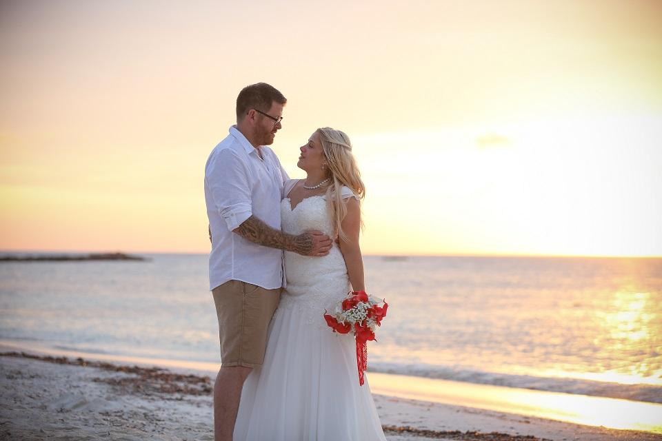 Aruba Destination Wedding | Beach Brides | And they called it puppy love... real wedding story