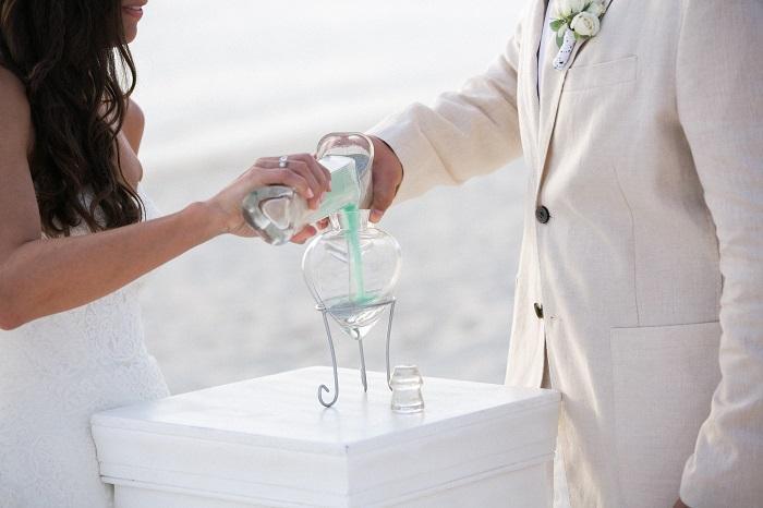 Aruba Beach Wedding | Sand Ceremony Unity Candle | Beach Brides