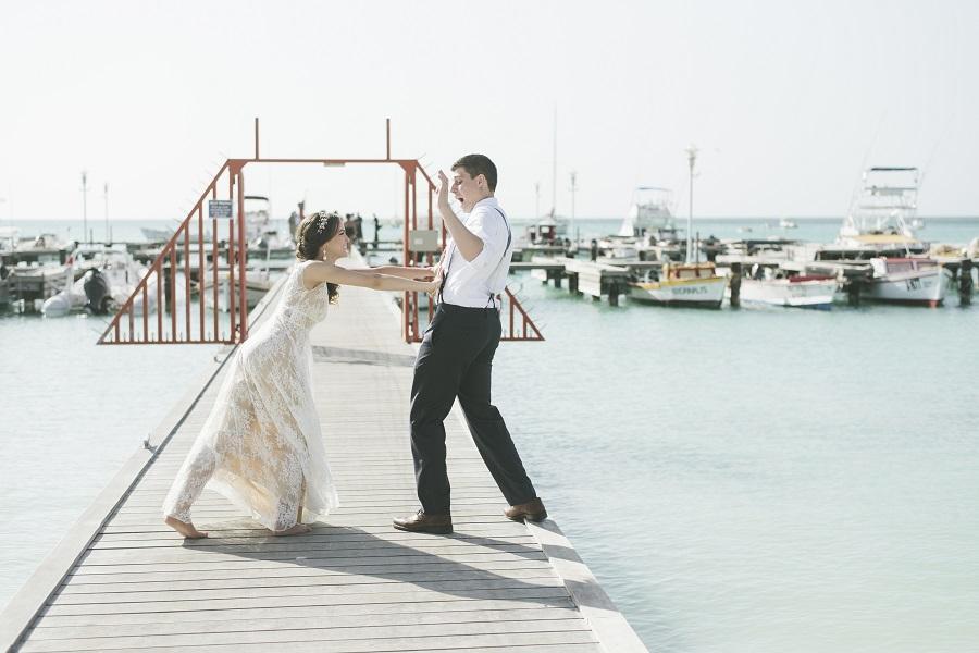 Aruba Destination Wedding | Aruba Beach Wedding | Sabrina and Sasha Wedding Story