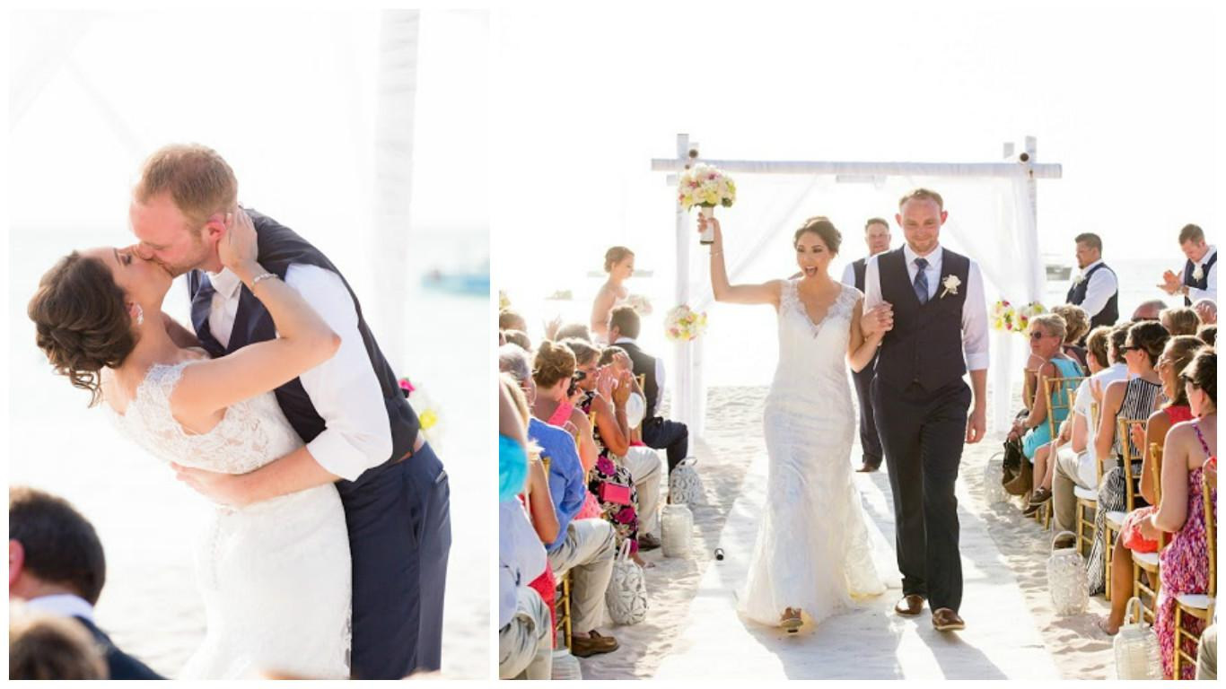 Aruba Destination Wedding | Beach Brides | Aruba sets the scene for Romantic Nuptials
