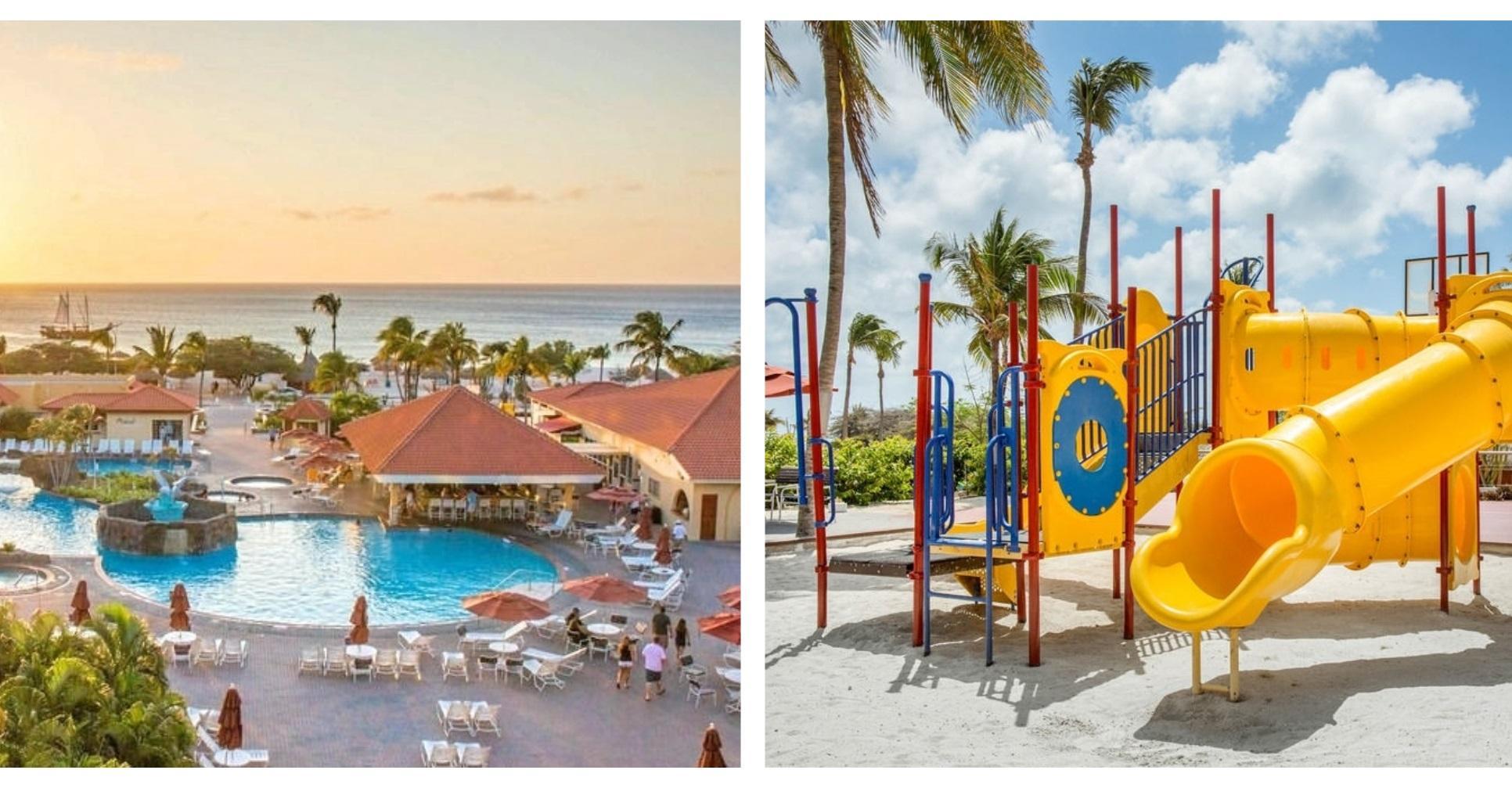 Aruba Destination Weddings | La Cabana Beach Resort family friendly vacation resort | Beach Brides aruba wedding blog