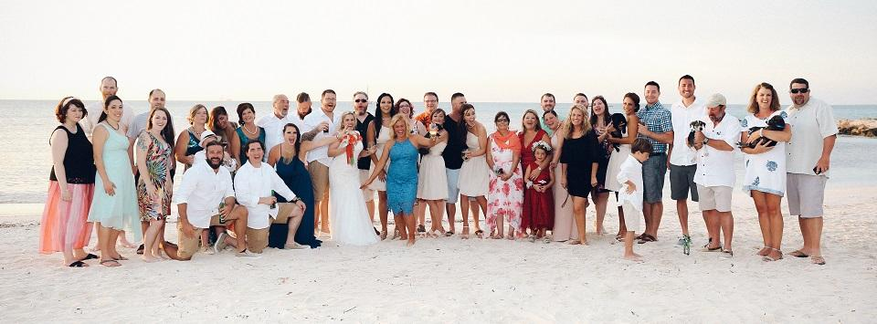 Aruba Beach Wedding | And they called it puppy love... real wedding story | Beach Brides