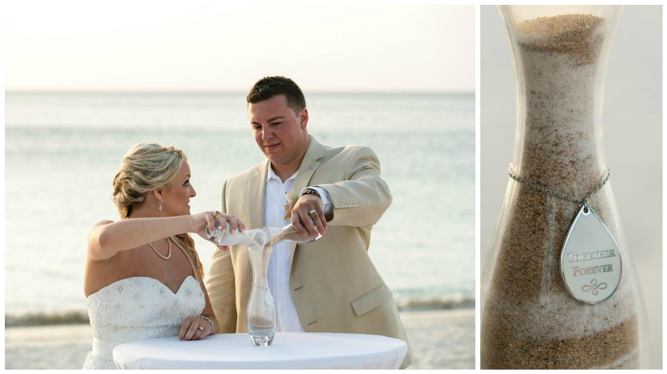 Aruba Beach Wedding | Stephanie and Richard | Beach Brides