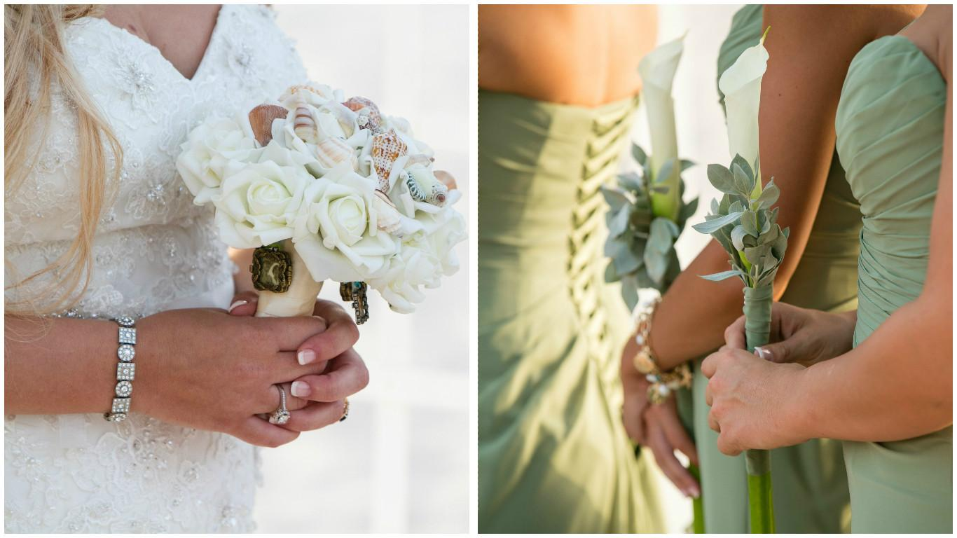 Beach Brides | Aruba Wedding Stephanie and Richard
