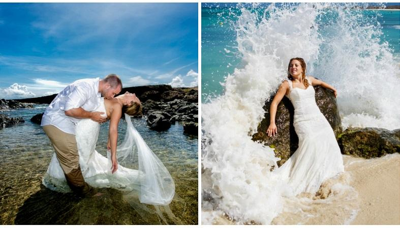 Aruba Wedding Photographer Victor Winklaar | Trash the Dress Photoshoot | Aruba Beach Brides