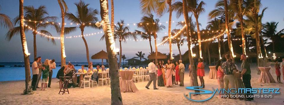 Swingmasterz Aruba Wedding DJ   Aruba Destination Wedding   Aruba Beach Brides