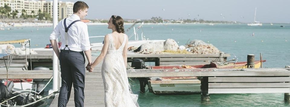 Aruba Wedding Videographer | Across the Waves | Beach Brides