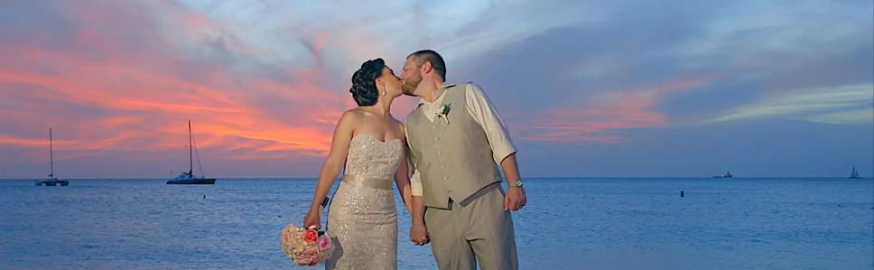 Aruba Wedding Videographer   Beach Brides